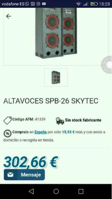 Imagen producto Altavozes para Karaoke 2