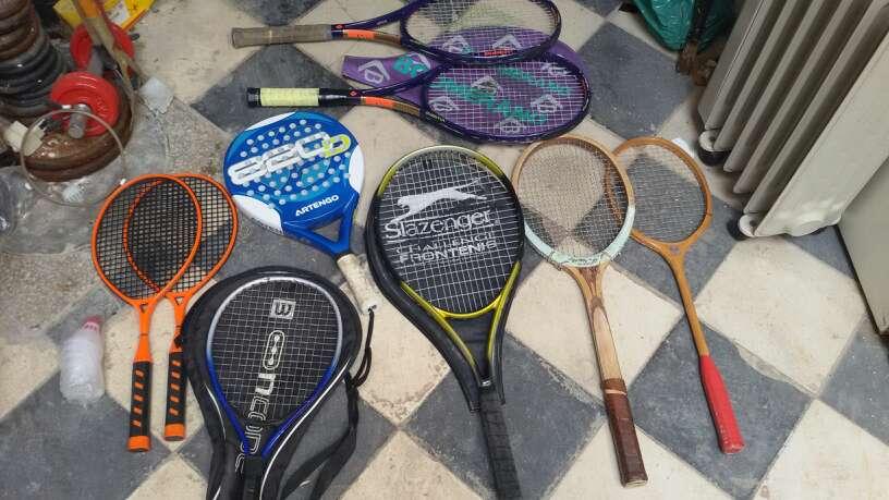 Imagen lote de raquetas