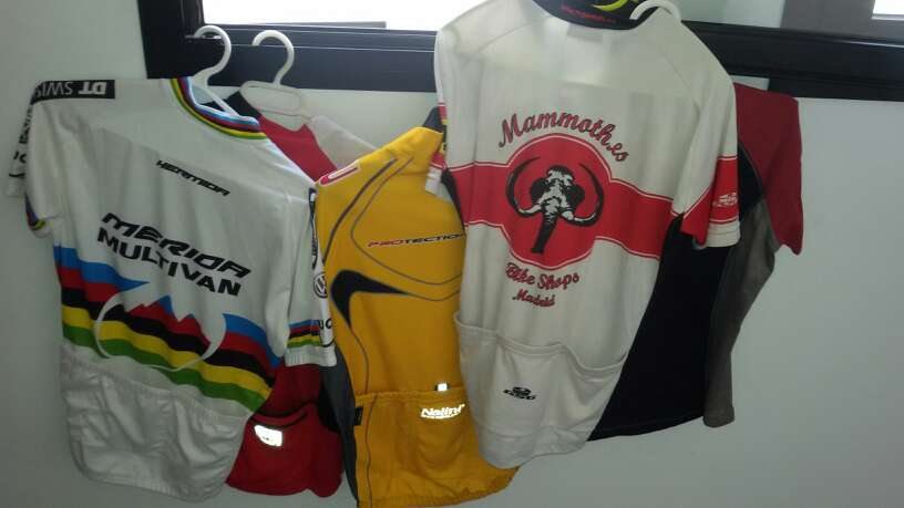 Imagen camisetas ciclista