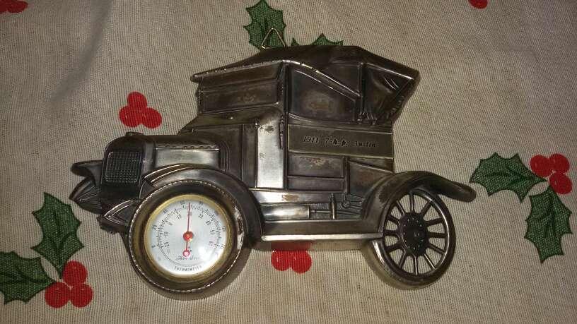 Imagen termometro coche austin antiguo