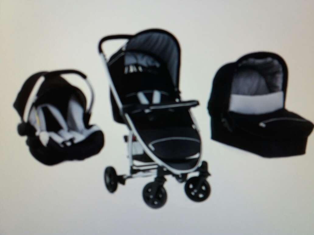 Imagen producto Hauck trio set 3 en 1,trio para cochecito de bebé, con grupo cero. 2