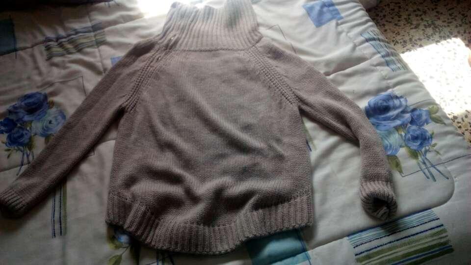 Imagen jersey de lana marrón