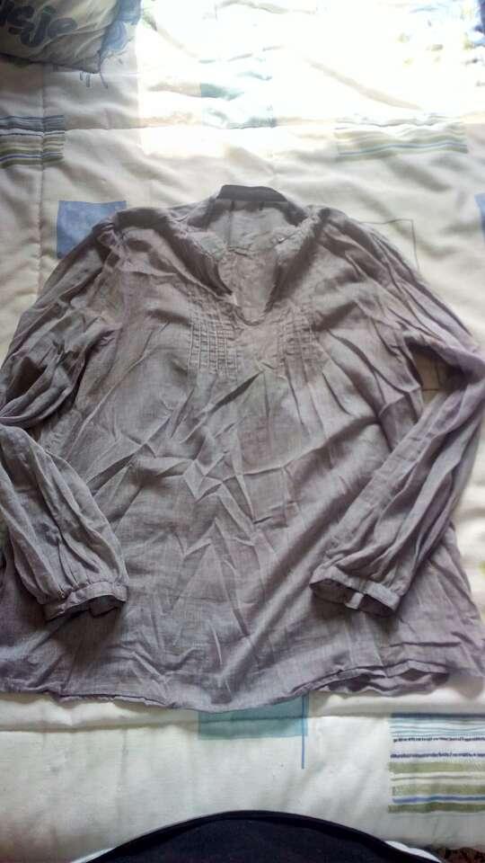 Imagen blusa gris