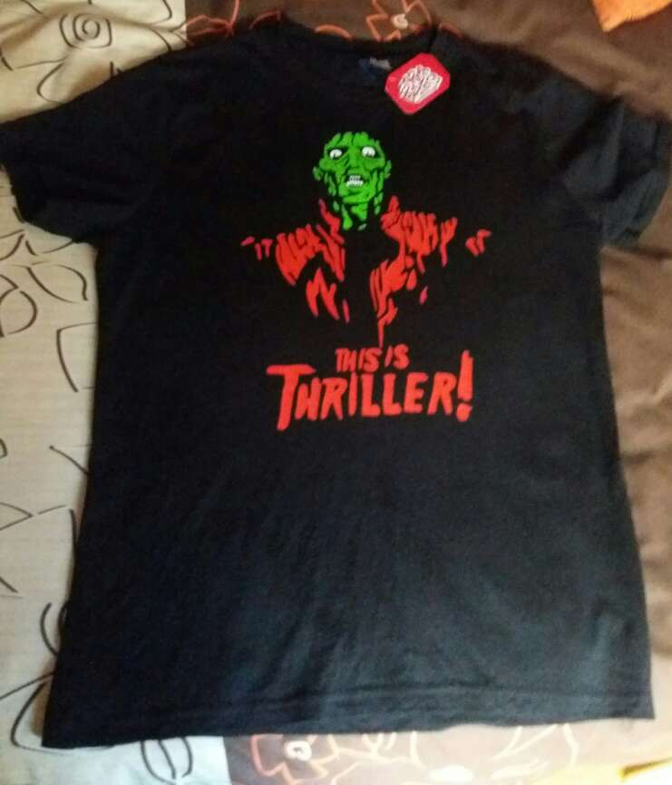 Imagen Camiseta Thriller MJ