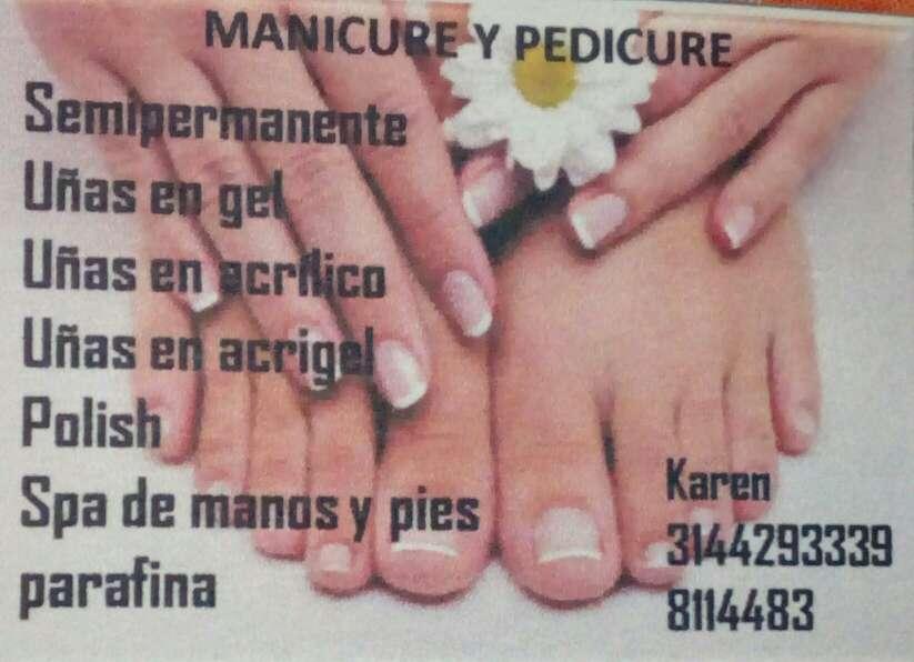 Imagen producto Manicure y pedicure a domicilio 1