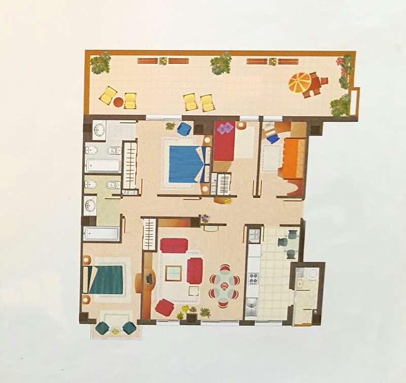 Imagen atico expectacular 4 dor, 2baños,garaje,trastero,piscina,terraza 36metros