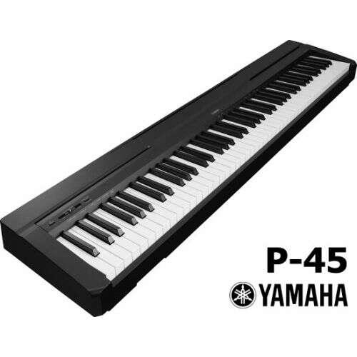 Imagen producto Yamaha p45 b con soporte 2