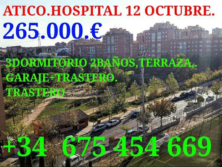 Imagen atico expectacular cerca de hospital de 12 octubre