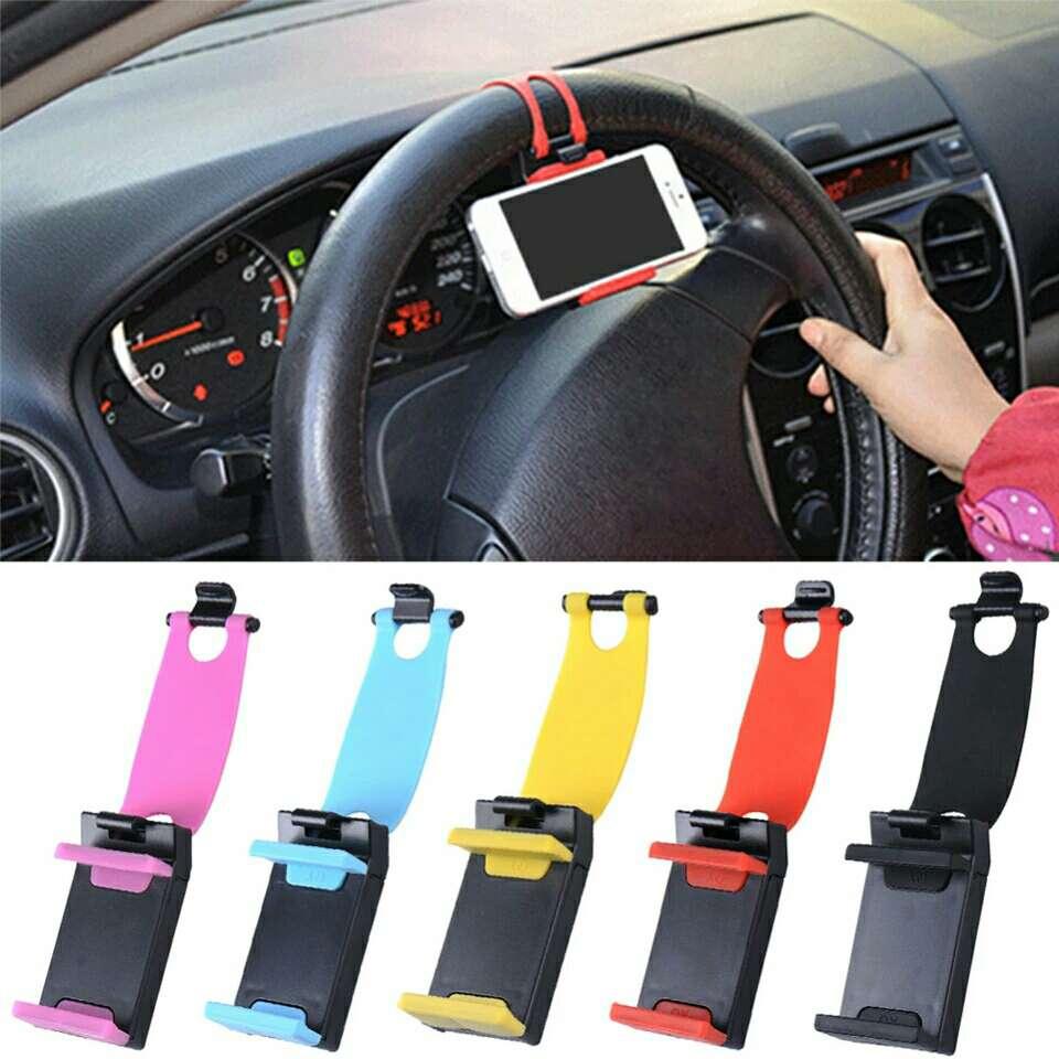 Imagen soportes móvil coche