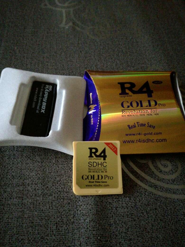 Imagen Nueva R4 gold pro