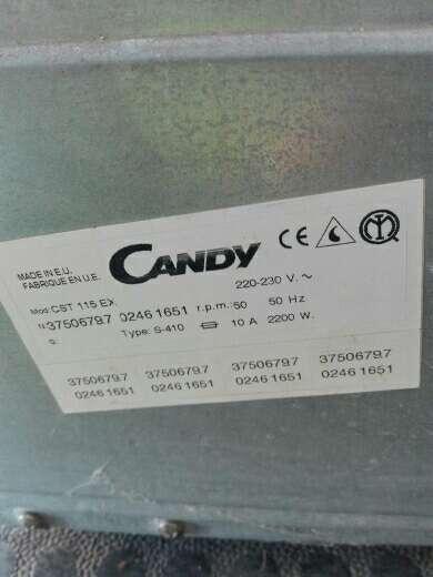 Imagen producto Secadora Candy CST 115EX 4