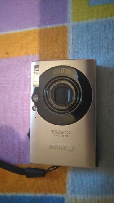 Imagen Canon ISUS 8515 10 MPX lente 3x15 con tarjeta memoria 4gb.