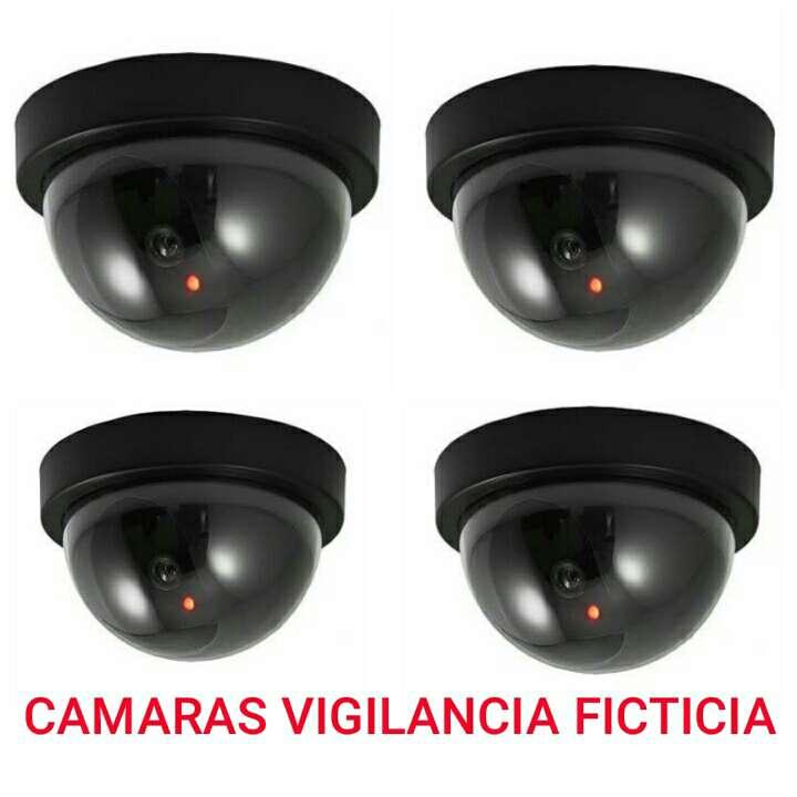 Imagen 4 camaras vigilancia ficticias nuevas.