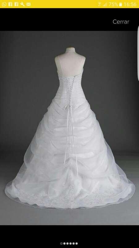 Imagen producto Vestido de novia y accesorios!! 2