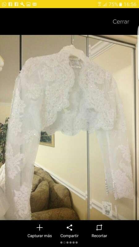 Imagen producto Vestido de novia y accesorios!! 3