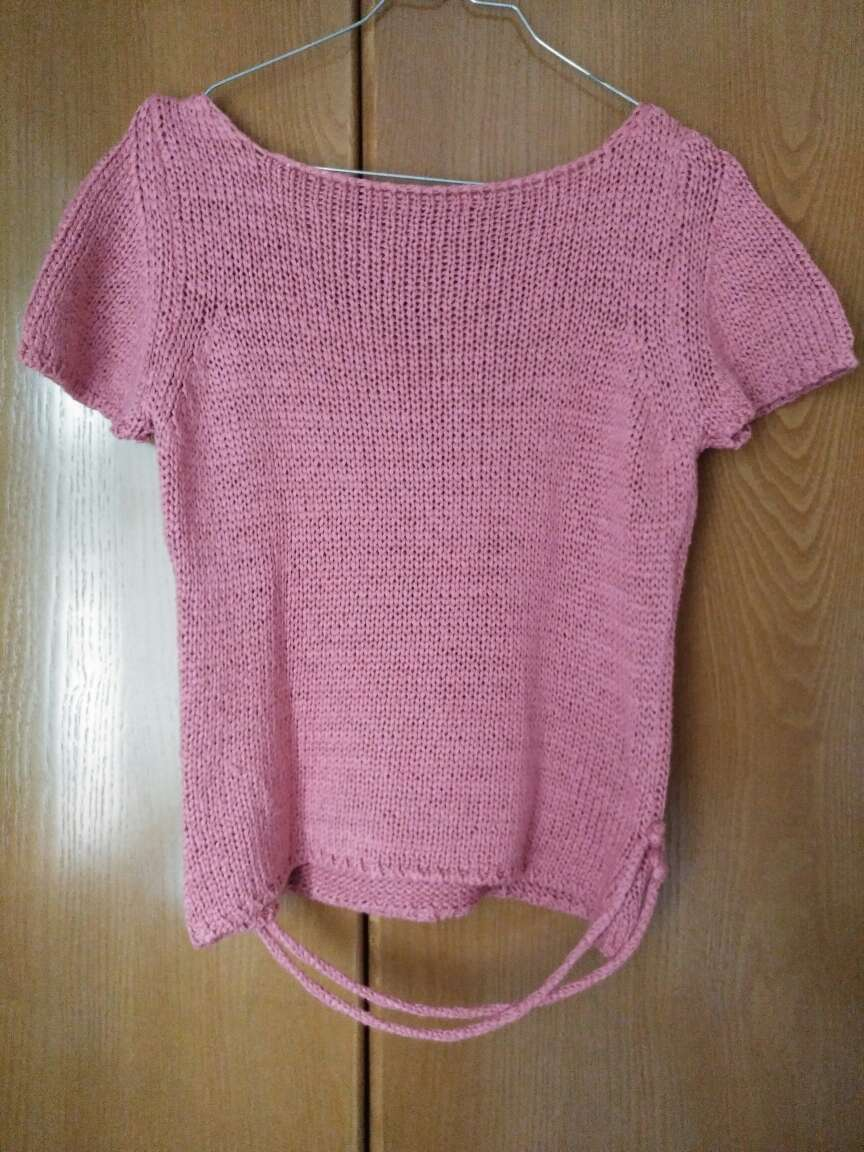 Imagen Jersey de manga corta rosa
