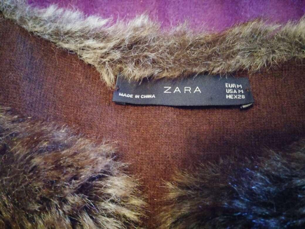 Imagen producto Chaleco pelo Zara 2