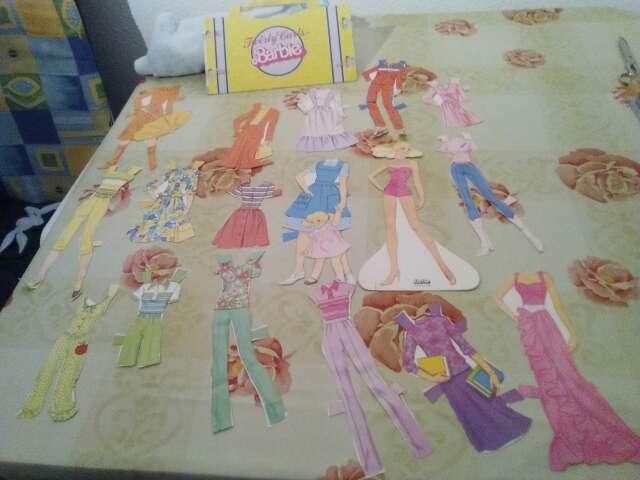 Imagen recortables barbie 1983