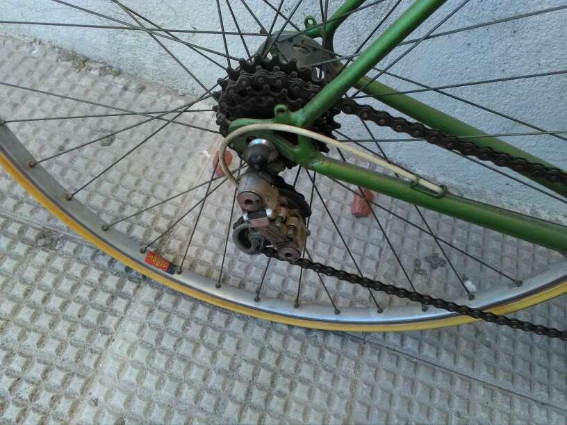 Imagen bicicleta de carreras mercier