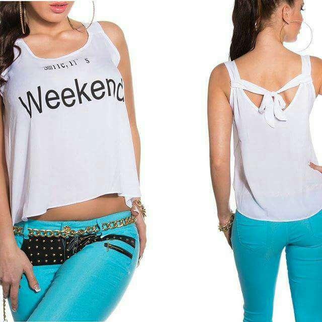 Imagen producto Top weekend 1