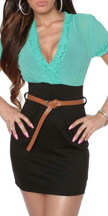 Imagen producto Vestido bicoloor 2