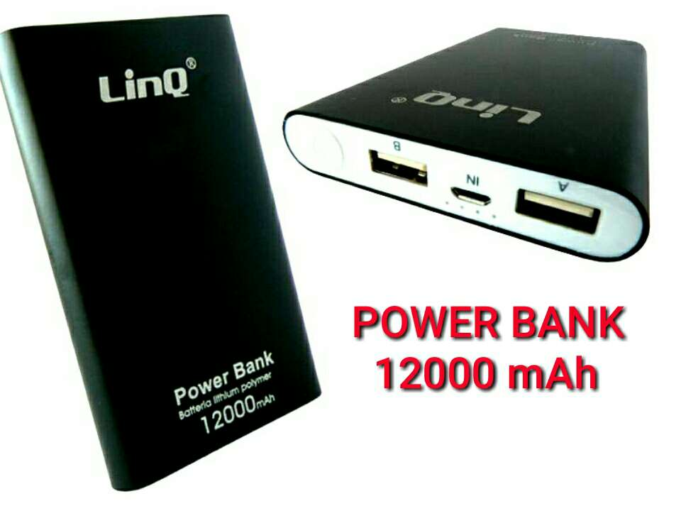 Imagen bateria externa movil 12000mah nueva.