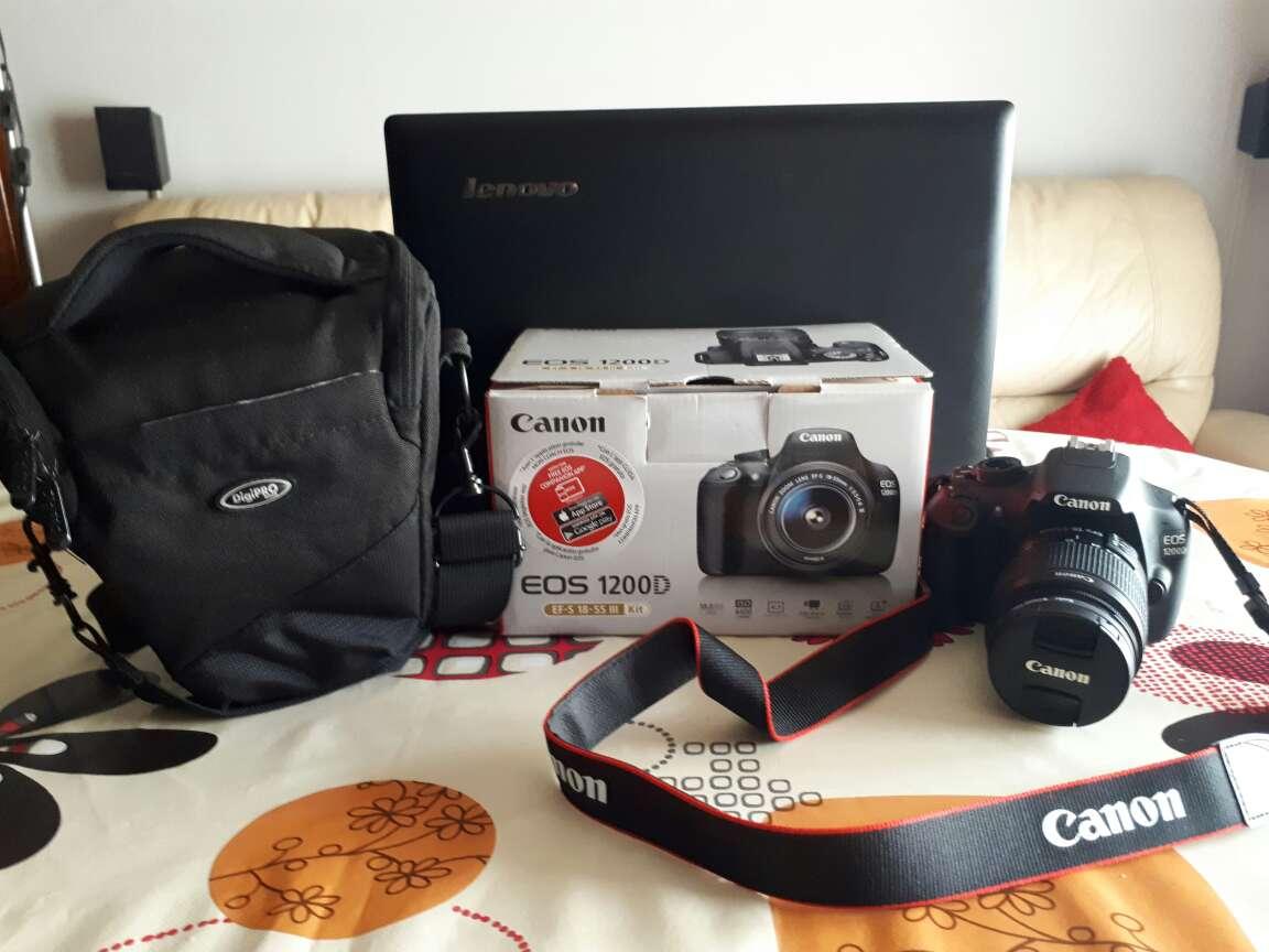 Imagen producto Cámara Réflex Canon EOS 1200D 3