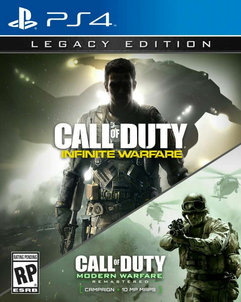 Imagen Call of Duty Infinity Warfare y Remastered