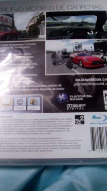 Imagen producto Vendo este videojuego de coche de psp3 para pley Station 3 2
