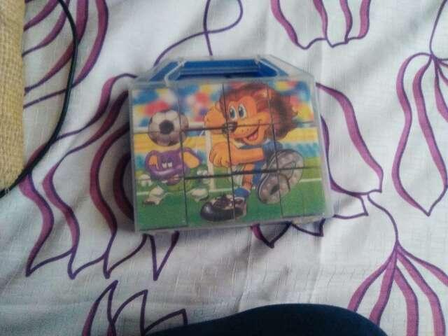 Imagen puzzle cubos