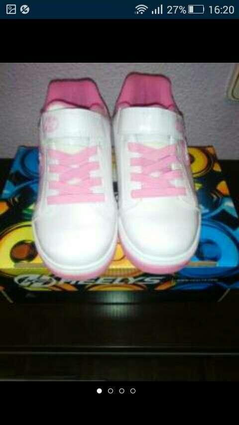 Imagen zapatillas niña heelys