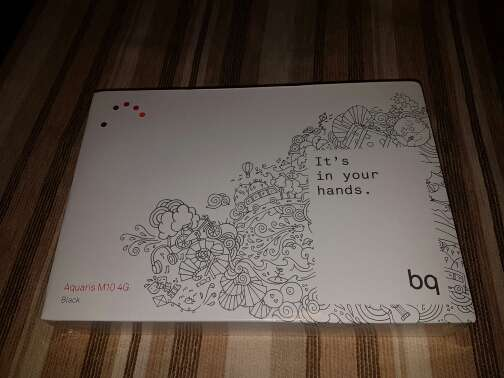 Imagen vendo tablet bq aquaris M10