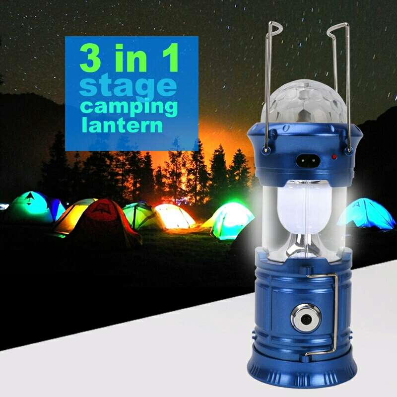 Imagen lampara linterna led magic nueva.