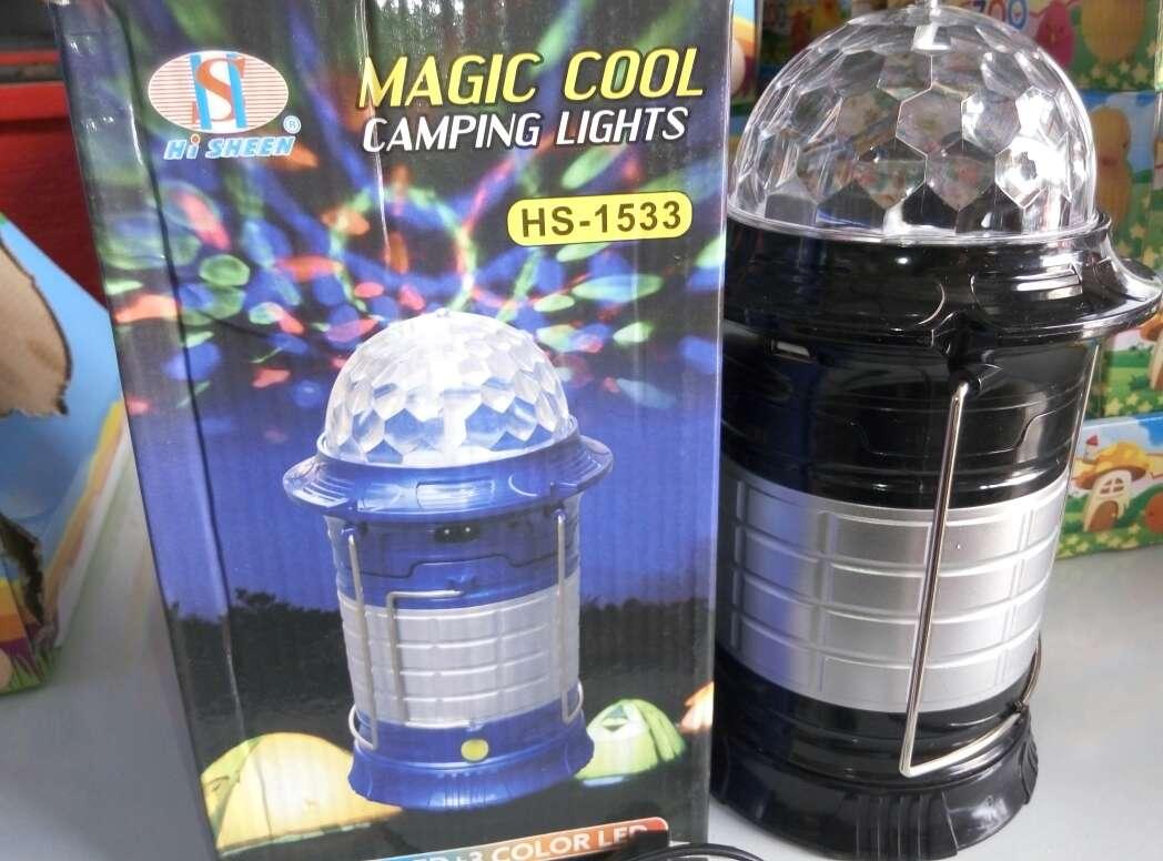 Imagen producto Lampara linterna led magic nueva. 3