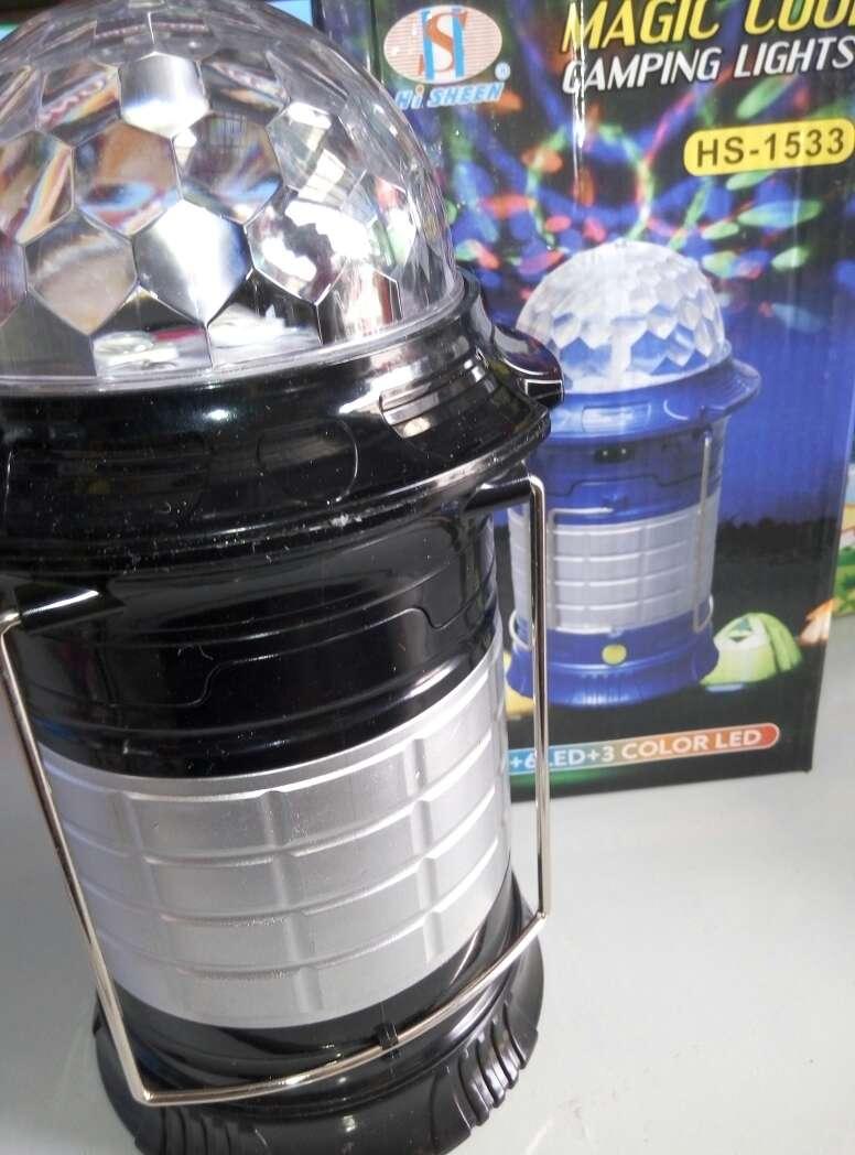 Imagen producto Lampara linterna led magic nueva. 4
