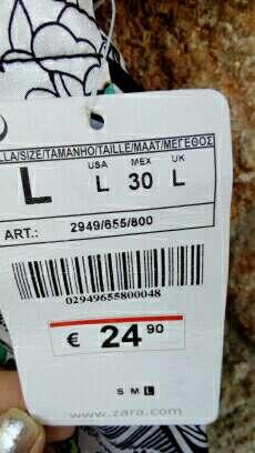 Imagen producto Blusa Zara nueva 1