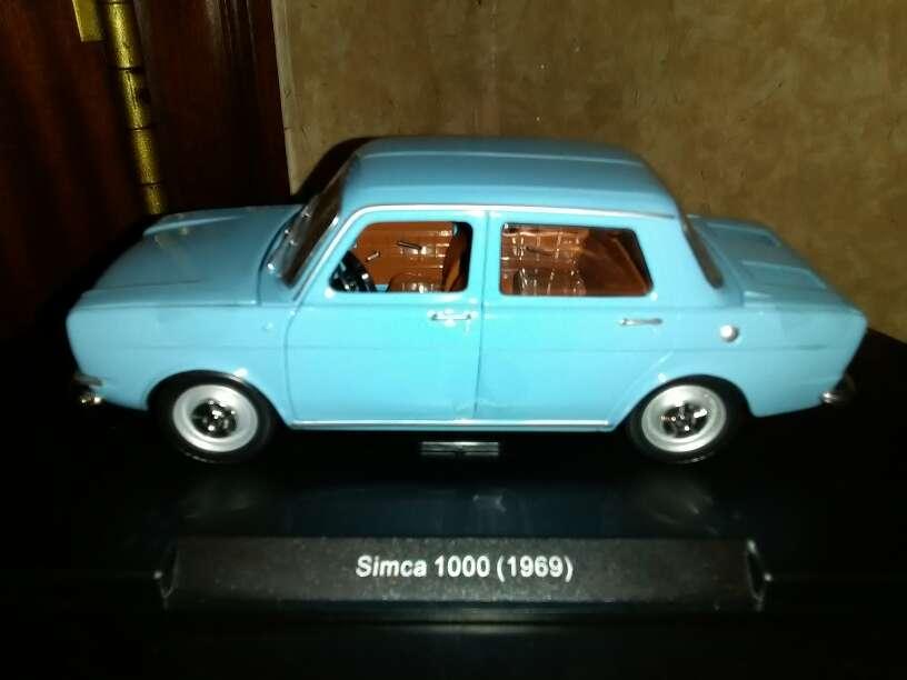 Imagen producto Se vende coche Simca 1000 año 1969 , escala 1/24 4