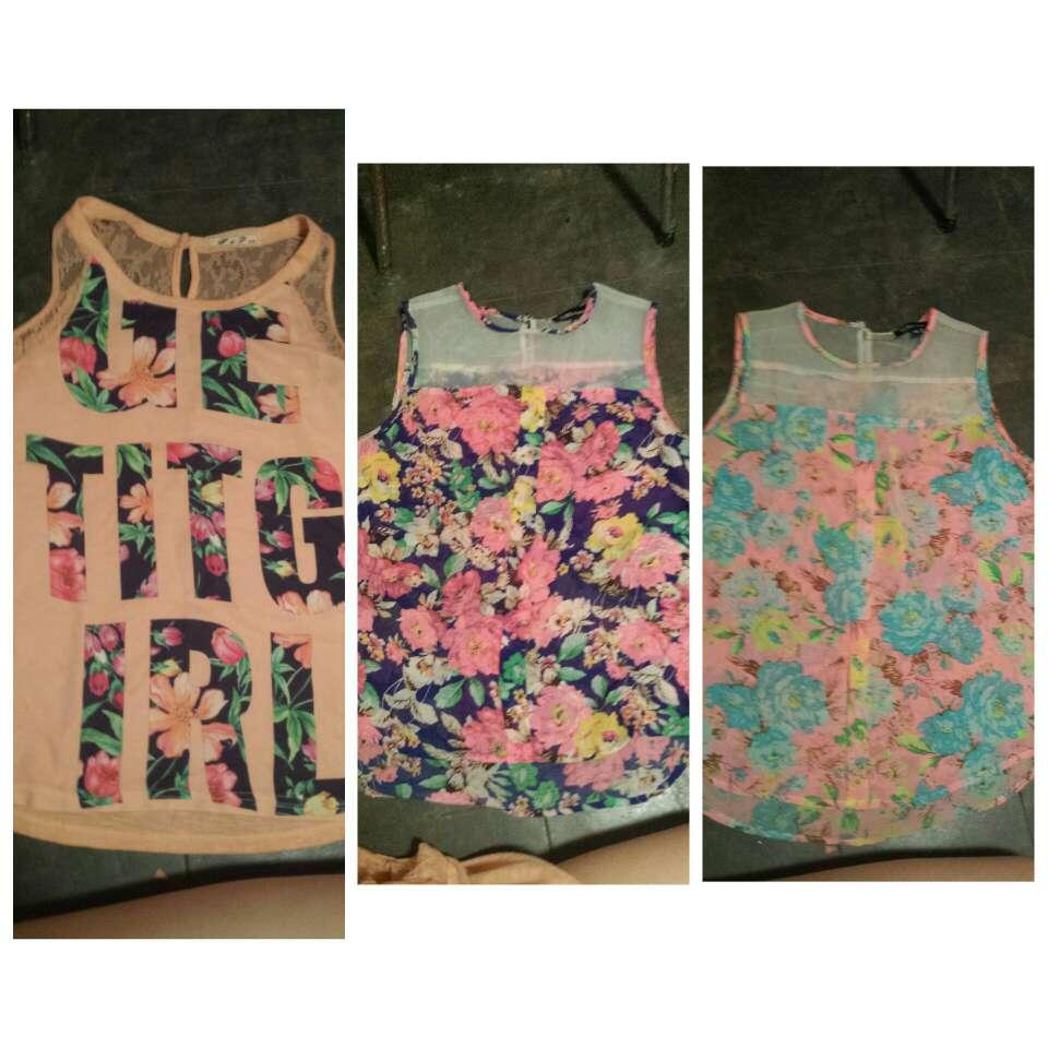 Imagen 3 camisas de flores