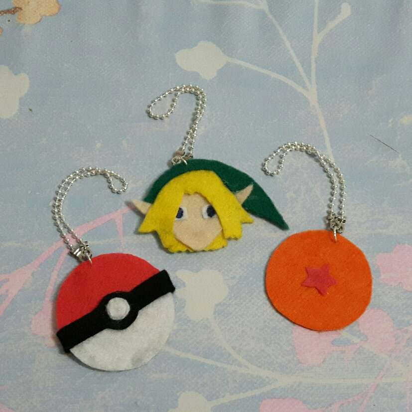 Imagen Llaveros Pokémon, Link, Dragon Ball