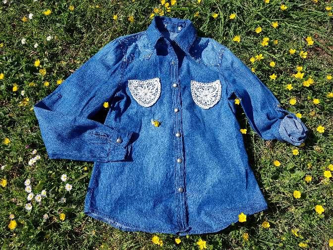 Imagen producto Camisa vaquera Talla S 1