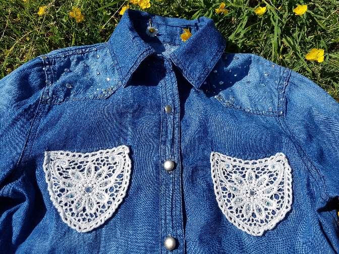 Imagen producto Camisa vaquera Talla S 2