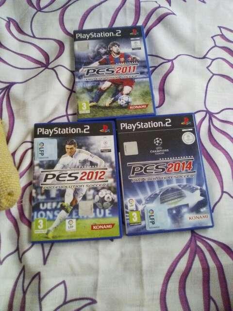 Imagen lote juegos play 2