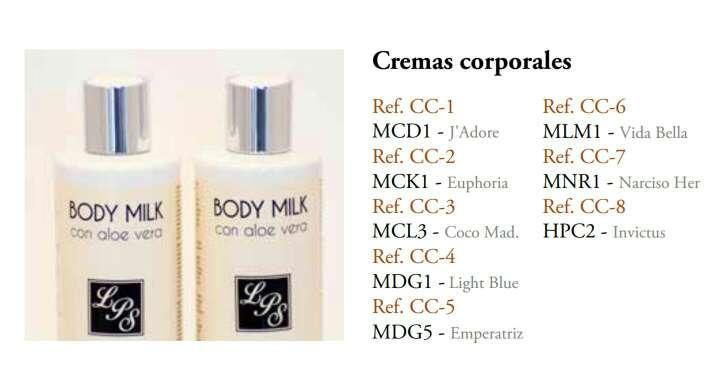 Imagen Crema corporal Perfumada