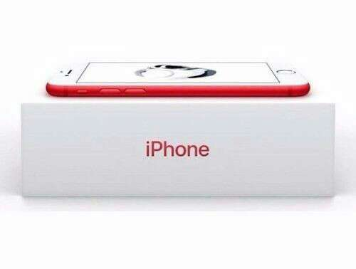 Imagen iPhone 7 128GB RED Apple
