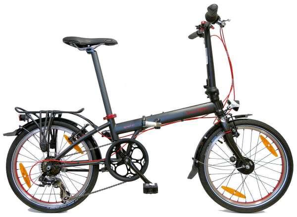 Imagen bicicleta plegable dahon speed d7 negro