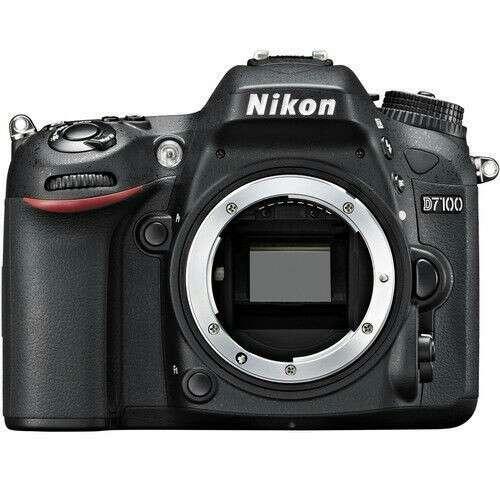 Imagen Nikon D7100 DX-formato de 24.1 MP CMOS Digital SLR Negro Sólo Cuerpo
