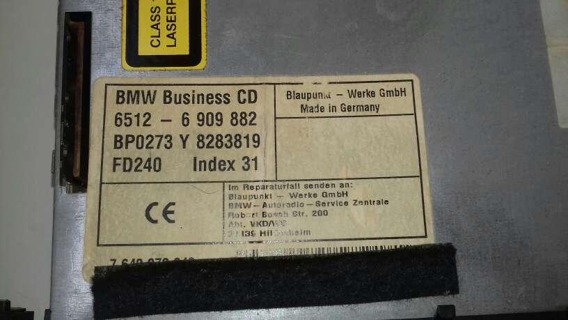 Imagen producto Vendo radio de bmw 1