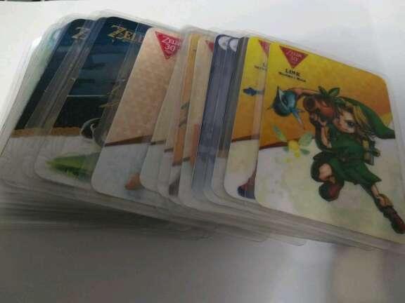 Imagen Amiibos formato tarjeta 3ds/Switch/WiiU