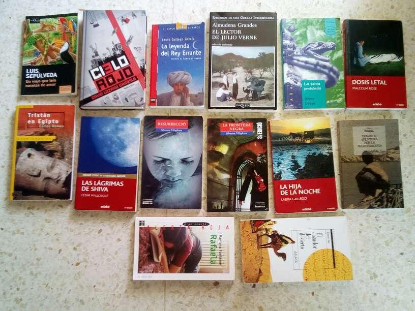 Imagen libros de lectura 5€ cada uno