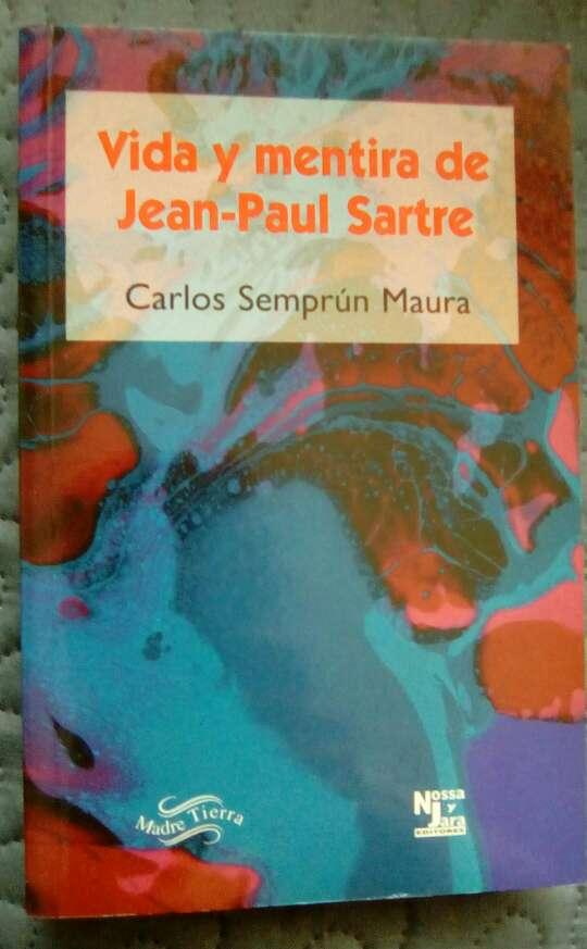 Imagen Vida y mentira de Jean-Paul Sartre